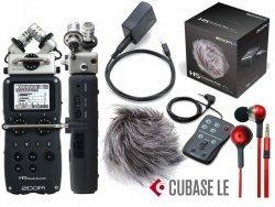 Rejestrator ZOOM H5 + APH-5 + słuchawki Mega zestaw