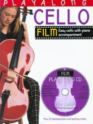 Bosworth PlayAlong cello film nuty + CD