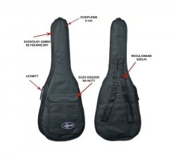 Ever Play GB203A Pokrowiec na gitarę akustyczną
