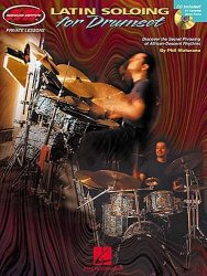 Hal Leonard Latin Soloing for drumset