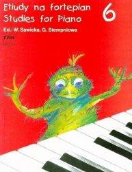 Etiudy na fortepian, z. 6      Wiera Sawicka     Gabriela (ed.) Stempień