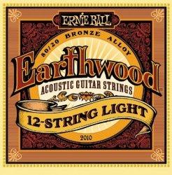 Ernie Ball 2010 struny do gitary akustycznej 12strunowej