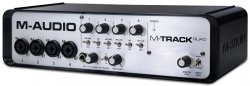 M-AUDIO M-TRACK QUAD Interface