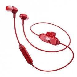 JBL E25BT Czerwone Słuchawki dokanałowe Bluetooth