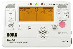KORG TM-50 PW tuner, metronom