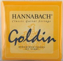 Hannabach 725MHT Goldin struny do gitary klasycznej
