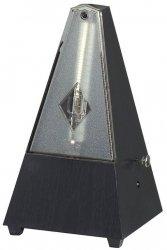 Wittner Metronom Obudowa z tworzywa sztucznego z dzwonkiem Kształt piramidy Czarny 816K