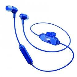 JBL E25BT Niebieskie Słuchawki dokanałowe Bluetooth