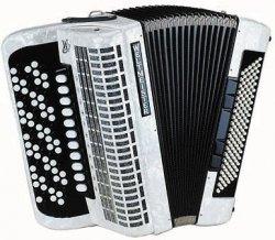 Weltmeister Romance 874 87/120/IV/11/5 akordeon guzikowy biały