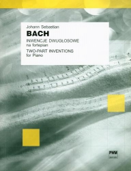 Inwencje dwugłosowe na fortepian Johann Sebastian Bach