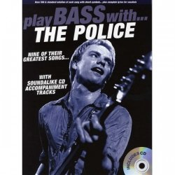 PWM Hal Leonard Play Bass with The Police