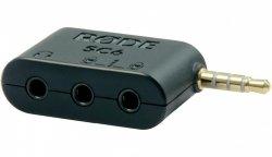 Rode SC6 adapter TRS 3.5 mm pozwalający na podłączenie słuchawek oraz 1 lub 2 mikrofonów smartLav
