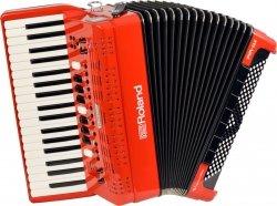 Roland FR4X Red Akordeon cyfrowy czerwony