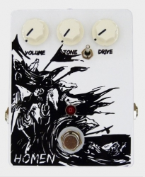 Visar Stompboxes Homen Classic Overdrive