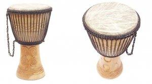 Djembe Ghana 10 bęben drewniany