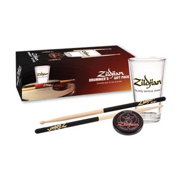 Zildjian zestaw upominkowy pałki, pad, szklanka