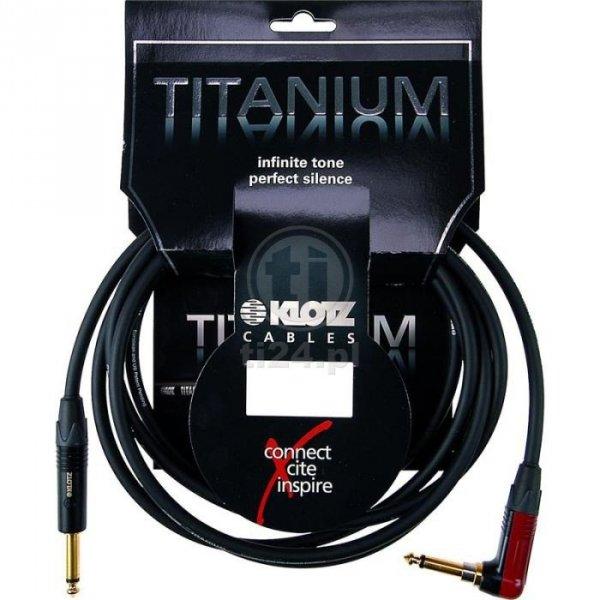 Klotz TIR0600PSP Titanium kabel 6m 2x jack mono