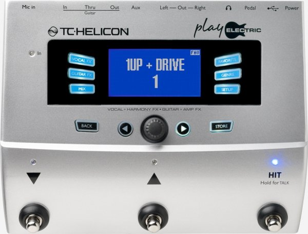 Tc Helicon Play Electric