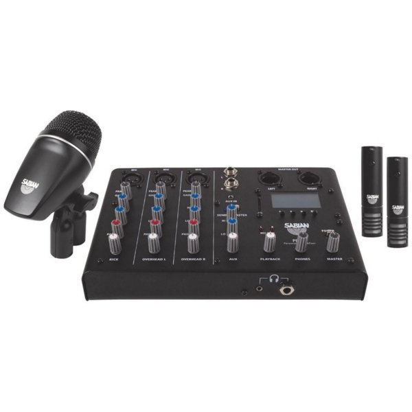 Sabian SSKIT mikser + mikrofony do perkusji