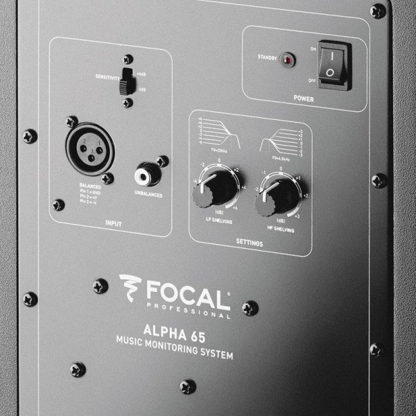Focal Alpha 65 studyjny monitor aktywny