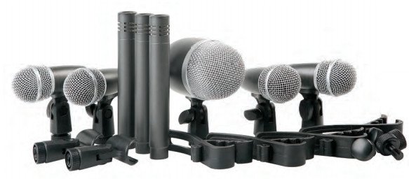 Proel DMH8XL zestaw mikrofonów do perkusji