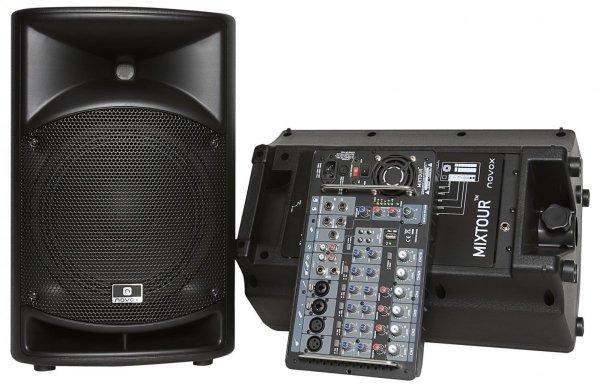 Novox Mixtour zestaw nagłośnieniowy