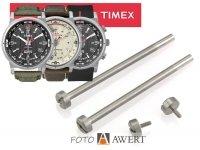 TIMEX oryginalna śruba mocowania bransolety SREBRNA