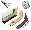 Dachfenster roto designo r7 hoch schwingfenster r79 h 3 fach verglasung uw wert 1 1 energie holz - U wert fenster 3 fach verglasung ...