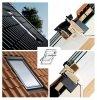 Dachfenster set velux glu 0061 3 fach verglasung uw 1 1 - Dachfenster 3 fach verglasung ...