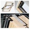 Velux dachfenster gll 1061 3 fach verglasung uw 1 1 schwingfenster aus holz mit dauerl ftung - Dachfenster 3 fach verglasung ...