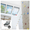 Dachfenster okpol elektrofenster igc1v i22 uw 9 schwingfenster kunstoffenster pvc profile in - Dachfenster 3 fach verglasung ...