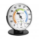 Termohigrometr tradycyjny TFA 45.2033 czujnik temperatury i wilgotności mechaniczny włókna syntetyczne 102 mm