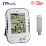 Rejestrator temperatury i wilgotności TFA 30.3039 KLIMALOGG PRO data logger termohigrometr USB