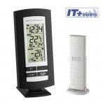 Termometr bezprzewodowy TFA 30.3037 BASIC z czujnikiem zewnętrznym błyskawiczna transmisja