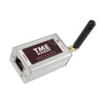 Termohigrometr internetowy Papouch TME Radio bezprzewodowy 868 MHz 100 m do Modbus TCP, Ethernet, LAN, IP