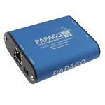 Moduł pomiarowy internetowy dwukanałowy Papouch 2TC_ETH PAPAGO zasilanie PoE, termoprara K, Modbus TCP, Ethernet, LAN, IP