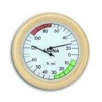 Termohigrometr do sauny TFA 40.1006 czujnik temperatury i wilgotności mechaniczny duży 195 mm