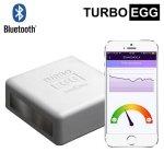 Czujnik emocji bezprzewodowy TurboEgg Emotion Sensor detektor kłamstw Bluetooth do smartfonu