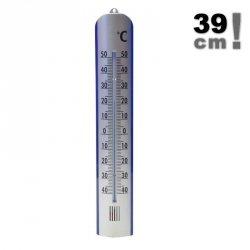 Termometr zewnętrzny Viking 02410 cieczowy ścienny 390 mm