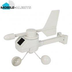 System zdalnego monitoringu Mobile Alerts MA10660 czujnik prędkości i kierunku wiatru wiatromierz smartfon