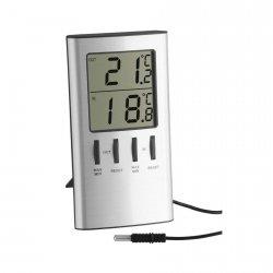 Termometr elektroniczny TFA 30.1027 z zewnętrznym czujnikiem przewodowym