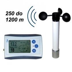 Wiatromierz rejestrator prędkości wiatru i temperatury Navis WL11-WS anemometr bezprzewodowy