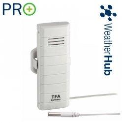 Czujnik temperatury bezprzewodowy TFA 30.3308 z wodoszczelna sondą PRO do WeatherHub