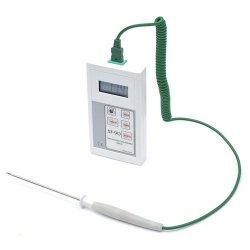 Termometr laboratoryjny ST-90-01-K elektroniczny termoparowy typu K z sondąszpilkowądo żywności