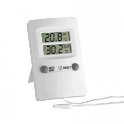 Termometr elektroniczny TFA 30.1009 z zewnętrznym czujnikiem przewodowym