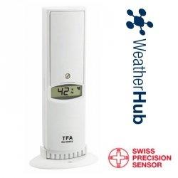 Czujnik temperatury i wilgotności bezprzewodowy TFA 30.3312 lini PRO do WeatherHub