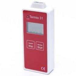 Rejestrator temperatury TERMIO-31 data logger termometr termoparowy typu K z sondą zewnętrzną USB