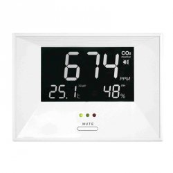 Stacja kontroli jakości powietrza TFA 31.5003 AirCO2ntrol Life wewnętrzna wskaźnik stężenia CO2
