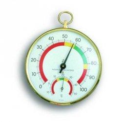 Termohigrometr tradycyjny TFA 45.2000 czujnik temperatury i wilgotności mechaniczny włókna syntetyczne 102 mm