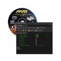 Oprogramowanie ARSoft-WZ1 do konfiguracji i podglądu aktualnych pomiarów z urządzeń APAR